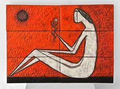Tiled wall panel – Oswald Tieberghien