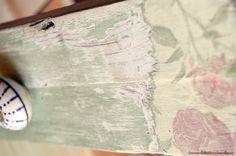 decapado con pintura chalk paint Chalk Paint Furniture, Diy Furniture, One Stroke Painting, Diy And Crafts, Stencils, Restoration, Ideas, Tips, Paper