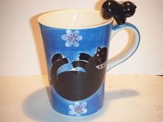 KITTY COFFEE MUG CUP-HERMAN DODGE & SON HOMESTEAD COLLECTION CUTE CAT CUP