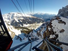 Make sure you're taking the cable car up to the Gemmi in Valais! You'll love the view! Car Up, Nature View, Swiss Alps, Mount Everest, Cable, Mountains, Travel, Cabo, Viajes
