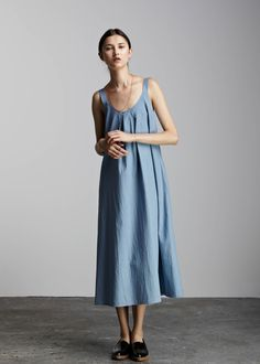 Installation Dress by Kowtow. Ethical organic cotton.