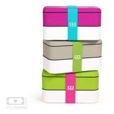 Bento Box Monbento bunt  Sobald ich genug Geld habe, werde ich mir eine vob diesen tollen Bentoboxen kaufen. Es ist einfach Liebe!