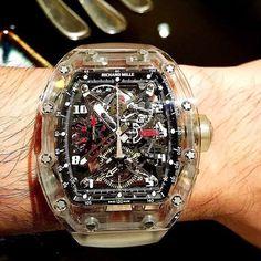 Richard Mille RM56 Sapphire by @iwan_liman  ------------------------------------------ #richardmille #RM56 #tourbillon #watchnerd #watchaholic #horology #followme #tagsforlikes #photooftheday #swag #instalike #like4like #boss #billionaire #millionaire #motivation by rm_addicti0n