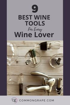 If you enjoy wine, serve wine, entertain with wine, then these 9 tools are a must. I've used all different kinds of wine tools and sometimes you just have to find what works for you. These wine tools are the ones I love and use ALL the time! Stemless Champagne Flutes, Stemless Wine Glasses, Gifts For Wine Lovers, Wine Gifts, Types Of Wine Glasses, Types Of White Wine, Wine Gadgets, Cooking With White Wine, Electric Wine Opener