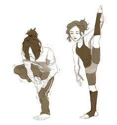art by pilot-star:  I am so ready for some ballerina!Natasha action.