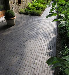 Dutch style clay pavers