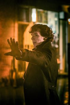 The first photos from Sherlock series 3.  The first episode is called The Empty Hearse and premieres in the UK on BBC One on January 1.