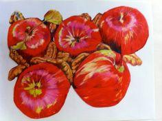 Apples and Pecans. Beautiful work @Karen Cadenhead