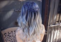 blue to blonde
