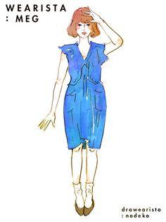일본 패션 블로거들이 그린 코디 일러스트 39장 - 인스티즈(instiz) 인티포털