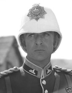 Sold from one collector to another - no rights given or implied. Michael Cain, Caine Michael, British Uniforms, War Film, Zulu, British Actors, British Army, Classic Films, Portrait Photo