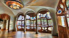 Antoni Gaudì Lift Cabin Elevator Casa Batllò, Batllo House Barcelona Catalonia | 1stdibs.com