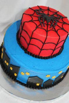 Gateau en spiderman