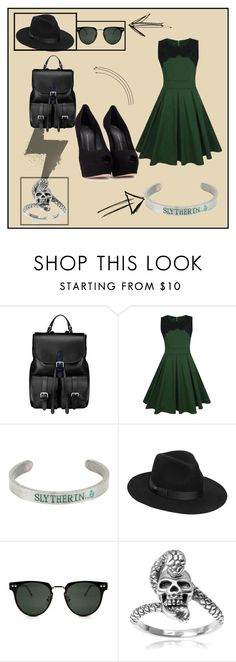 """I SWEAR"" by marygcg on Polyvore featuring moda, Aspinal of London, WithChic, Warner Bros., Lack of Color, Spitfire, Tressa y Giuseppe Zanotti"