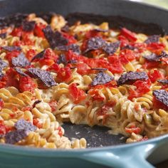 Recipes for electric steamer httpgeorgeforemanrecipes tuna mac cheese takes a trip to the southwest with spicy tomato and festive blue forumfinder Image collections