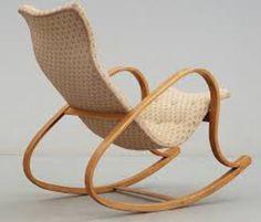 dondolo rocking chair | luigi crassevig