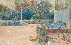 "CARL LARSSON 1853-1919, ""Min gårdsplan"""