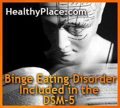 Binge Eating Disorder Gets Its Due
