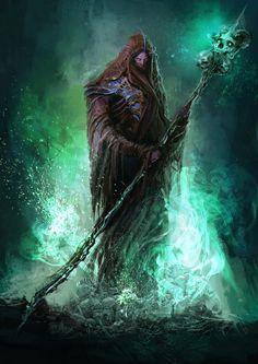 Necromancer by ShredderDima on DeviantArt