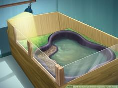 How to Build an Indoor Aquatic Turtle Pond: 13 Steps                                                                                                                                                                                 More