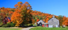 Travel to the New England area in Autumn