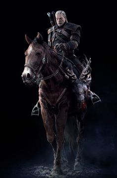 Witcher 3:Wild Hunt Concept Art - Geralt