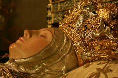 Rostro de la Virgen de la Asunción