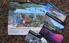 Five different park maps showing various NPS units with four closed and one open.