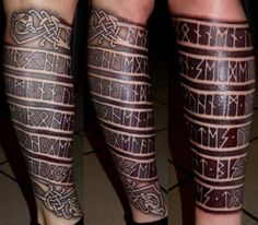 badass viking tattoos - Google Search