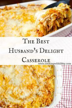 Lasagna meets beef stroganoff in this recipe. This casserole's claim to fame is in it's name because it really is a Husband's Delight!
