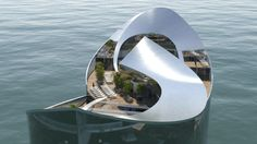 Floating hotel could house Qatar's World Cup guests—or Bond villains