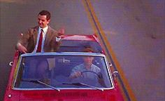 Discover & share this Mr Bean GIF with everyone you know. GIPHY is how you search, share, discover, and create GIFs. Mr Bean, Worlds Funniest Pictures, Funny Pictures, Middle Finger Gif, Microsoft, Kai, Oxford Reading Tree, Rude Words, Car Gif