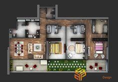 Các mẫu thiết kế nội thất nhà chung cư đẹp