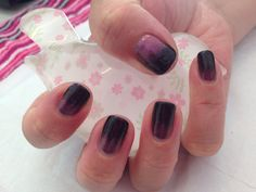 Shellac Blackpool with violet pearl additive