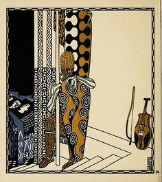 Die Nibelungen. Interpreted by Franz Keim (1840-1918) and illustrated by Carl Otto Czeschka (1878-1960) (Wien; Leipzig: Verlag Gerlach u. Wiedling, [1909]