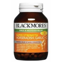 The Product Blackmores Super Strength Horseradish Garlic + C 90 Tabs  Can Be Found At - http://vitamins-minerals-supplements.co.uk/product/blackmores-super-strength-horseradish-garlic-c-90-tabs/