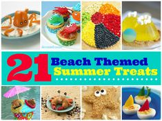 Hit the beach! These 21 summer treats are almost as fun as a day in the sun!