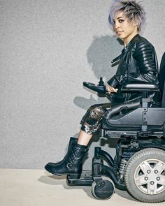 Jillian Mercado models for Diesel and other major fashion brands