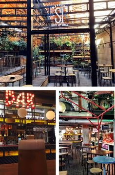 Mercado San Ildefonso – na calle Fuencarral 57, fica esse mais novo espaço gastronômico de Madrid,que segue a linha moderninho retrô.