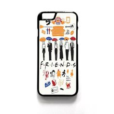 Friends TV Show Collage For Iphone 4/4S Iphone 5/5S/5C Iphone 6/6S/6S Plus/6 Plus Phone case ZG