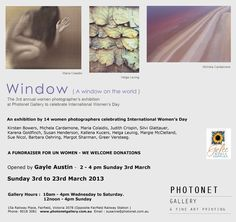 Photographic exhibition in Fairfield, Victoria with Michela Cardamone exhibiting. :)