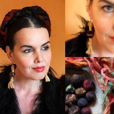Pica Nidum: DIY - Felted Beads