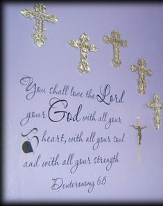 """<p> <span style=""""color:#000000;""""><span style=""""font-size:12px;""""> A powerful verse from Deuteronomy that remindes us to love our Lord<span style=""""font-family: Trebuchet, Arial, Helvetica, sans-serif; line-height: 20px; text-align: justify;"""">with all the heart, and with all the understanding and w</span></span><span styl..."""