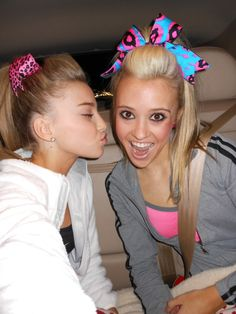 Peyton and Jamie <3 from cheer athletics