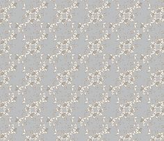 Paisley in gray and white fabric by art_is_us on Spoonflower - custom fabric