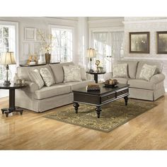 Living Room-Signature Design by Ashley 7820038 Candlewick Sofa - ATG Stores