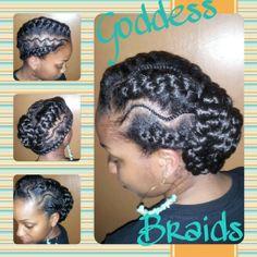 Brilliant Goddess Braids Braid Hairstyles And Goddesses On Pinterest Hairstyles For Women Draintrainus