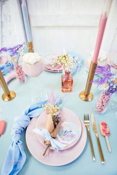 Pastel Wedding Theme, Rainbow Wedding, Wedding Themes, Wedding Colors, Wedding Decorations, Pastel Weddings, Spring Weddings, Wedding Show, Dream Wedding