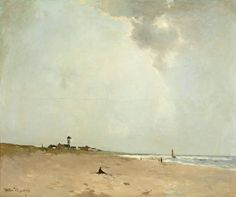 Hendrik Johannes Weissenbruch (born Jan Hendrik on 19 June 1824 in The Hague – 24 March, 1903 in The Hague) was a Dutch painter of the Hague School. Art Prints Uk, Dutch Painters, Art For Art Sake, Painting Inspiration, Sailing Ships, Painting & Drawing, Seaside, Arts And Crafts, Clouds