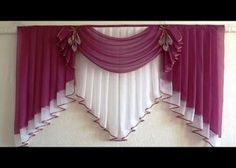 Curtains And Draperies, Elegant Curtains, Home Curtains, Modern Curtains, Curtains 2018, Window Drapes, Hanging Curtains, Window Curtain Designs, Curtain Patterns